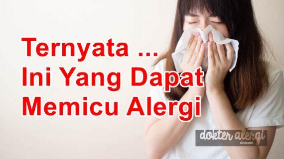 Ternyata Ini Yang Dapat Memicu Alergi